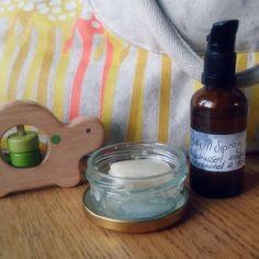 Hemgjord bacillspray med trollhassel, aloe vera, lavendel och tea tree