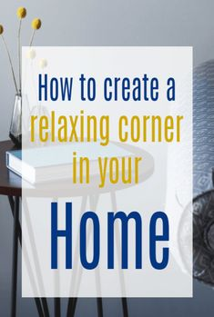 How to create a relaxing corner in your home - home decor tips designed to help you chill out at home in a costy nook Beautiful Space, Beautiful Homes, Space Dividers, Cosy Corner, Good Mental Health, Meditation Space, Ways To Relax, Best Location, Home Hacks