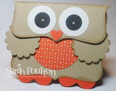 Stampin' Sarah!: Top Note Owl Card Tutorial