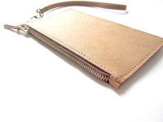 Handmade Washable Kraft Paper Purse  Mini Wallet  by woocooideas