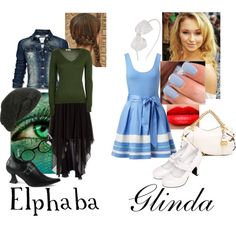 Elphaba and Glinda-What Is This Feeling-Wicked Broadway Outfit, Broadway Costumes, Wicked Costumes, Elphaba Costume, Elphaba And Glinda, Casual Cosplay, Cosplay Outfits, Dance Outfits, Cool Outfits