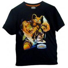 T-shirt skylanders giants - noir - Swarm
