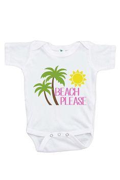 249ea83a7 7 ate 9 Apparel | Baby's Beach Please Summer Onepiece Beach Kids, Summer  Kids,