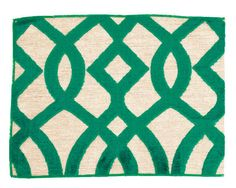 Love this #Emerald green fabric from @ELLE DECOR. They are definitely in the know when it comes to the #ColoroftheYear.