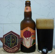 Cerveja Rio de Colônia, estilo American Stout, produzida por 2cabeças, Brasil. 6% ABV de álcool.