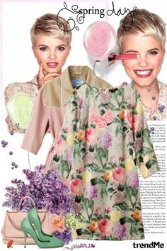 Spring days... from Lady Di ♕  - trendme.net