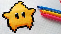 Handmade Pixel Art – Wie man Kawaii Star aus Super Mario zeichnet Source by The post Handm Sketchbook Drawings, Doodle Drawings, Doodle Art, Cute Drawings, Art Kawaii, Modele Pixel Art, Pixel Drawing, Graph Paper Art, Pix Art