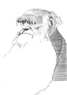 Charles Darwin, David Levine