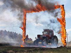 Гонки на тракторах-Tractor race