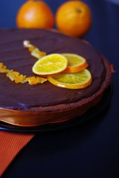 Tarte orange chocolat - Recette Ptitchef
