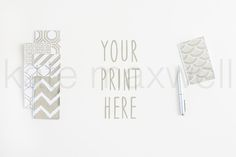 #10 KATE MAXWELL Styled Mock-up $15  by KateMaxStock on @creativemarket