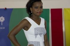 Luana da Costa em seu momento de top model.