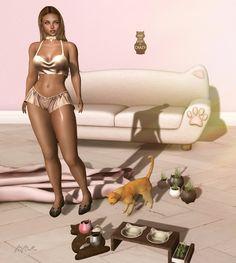 SeconDoll: The Cat Lady