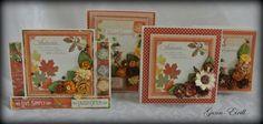 Gunn-Eirill`s Paper Magic: Autumn cards/DT Wild Orchid Craft