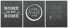 Home Sweet Home Free Printables
