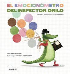 El Emocionómetro del Inspector Drilo es perfecto para aprender a identificar y controlar las emociones