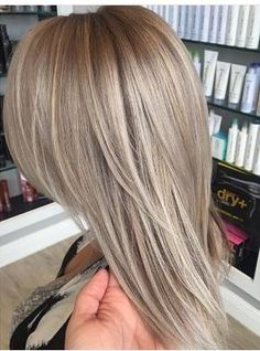 I love this ash violet blonde!