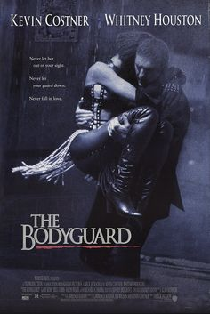 """The Bodyguard 1992 Authentic 27"""" x 41"""" Original Movie Poster Rolled Fine, Very Good Kevin Costner Drama U.S. One Sheet"""
