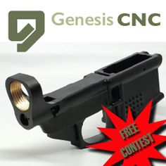 Chance to win a GenesisCNC AR15 80% polymer lower. Ends today... IFTTT reddit giveaways freebies contests