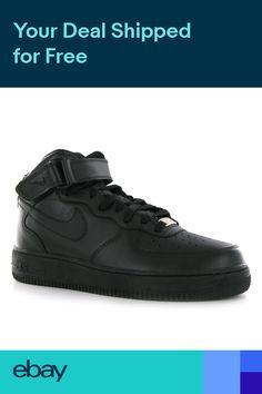 new arrival 1167c f0e8c Men s Black Nike Air Force 1 Mid Trainers   schuh   Nike Air Force 1 Men s  Trainers   Nike air force, Nike air, Air force 1