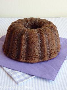 Cocinando con Neus: Bundt cake de chocolate