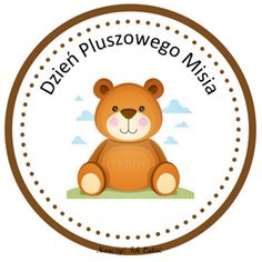 Nauczyć Ich Latać: Dzień Pluszowego Misia - materiały do pobrania Teacher Inspiration, Classroom Inspiration, Build A Bear Party, Ladybug 1st Birthdays, Teddy Bear Day, Diy And Crafts, Crafts For Kids, Kids Artwork, Kindergarten Art