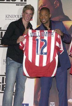 Will Smith and Fernando Torres