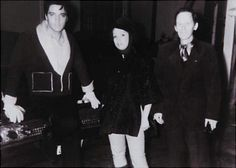 Elvis in L-A february 1965.