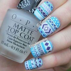 mandala nail designs - Buscar con Google