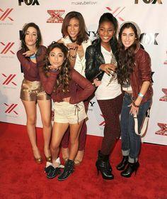 Fifth Harmony X Factor | Fifth harmony on the x factor USA 2012 ♥