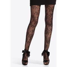 Womens Lace Tight by White House Black Market ($15) ❤ liked on Polyvore featuring intimates, hosiery, tights, doll parts, accessories, bottoms, leggings, apparel, pantyhose and white house black market