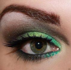greenery eyeshadow
