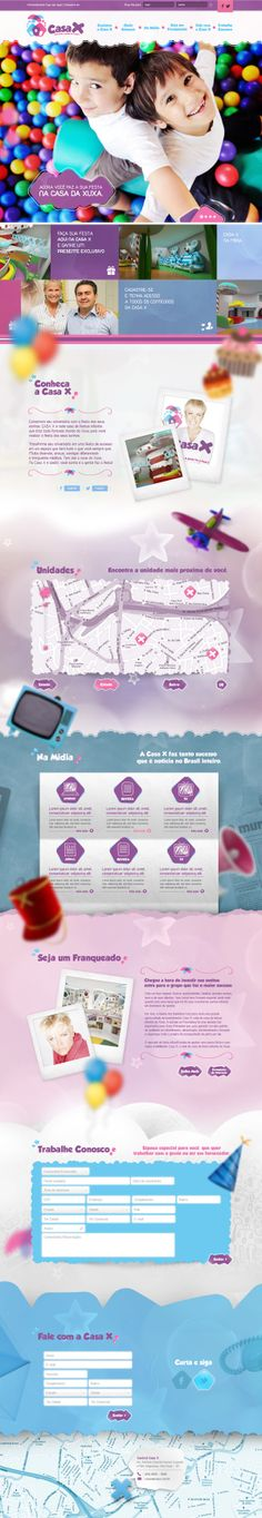 Unique Web Design, Casa X #WebDesign #Design (http://www.pinterest.com/aldenchong/)