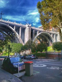 Mi querido Madrid Viaducto calle Segovia