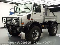 Arnold Schwarzenegger's Mercedes-Benz Unimog truck is now available to anyone with access ...