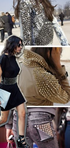 Studs and Spikes DIY