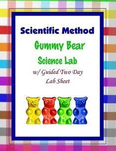 Scientific Method Gummy Bear Lab