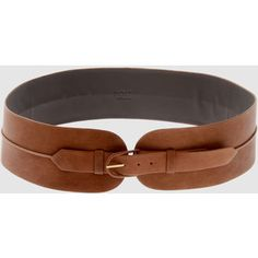 Outfit # 1: Brown leather belt...