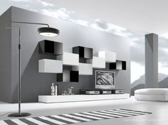 Modern living room is no longer just a part of the house but it is the most essential and active area. 50 modern living room furniture design ideas by Presotto. Contemporary Living Room Furniture, Room Furniture Design, Living Room Modern, Living Room Designs, Modern Furniture, Furniture Ideas, Grey Walls Living Room, Black And White Living Room, Living Room Decor