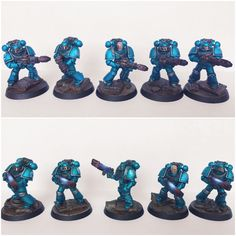 Pre-Heresy alpha Legion Support Squads by ak1508 on @DeviantArt