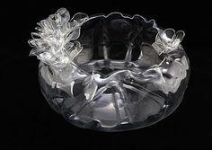Gulnur Ozdaglar uses plastic bottles to make amazing pieces of art.
