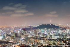 Inwangsan: This 338-meter-high mountain on the outskirts of Seoul offers probably the best view of the city.