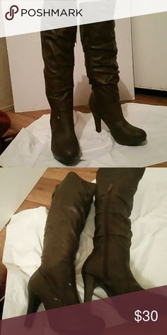 NWT ladies ND knee boots New ladies brown ND brand boots new directions Shoes Over the Knee Boots