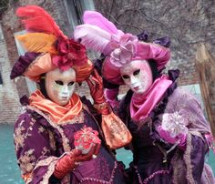 Colorful Ladies, Carnival of Venice jigsaw puzzle