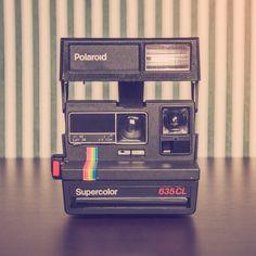 Cámara Polaroid Supercolor 635CL Rehabilitada por Alan Prodanov A la venta en My Vintage Shoot www.myvintageshoot.com
