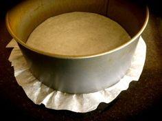 how to line a cake tin | ditchthecarbs.com