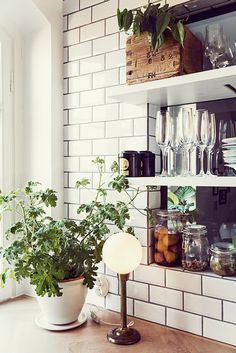 Letting Light and Life Into An Attic Apartment in Stockholm, Sweden | Design*Sponge