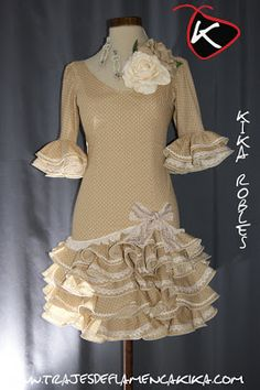 TRAJES DE FLAMENCA KIKA Women Church Suits, Spanish Fashion, Carnival Themes, Frill Dress, Seville, Princess Party, Pretty Outfits, Tutu, Sewing Projects
