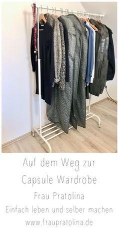 Welche Schritte ich unternommen habe, um eine Capsule Wardrobe  für mich zu erstellen. Capsule Wardrobe, Wardrobe Rack, Blog, Furniture, Reach In Closet, Dressing Up, Woman, Blogging, Home Furnishings