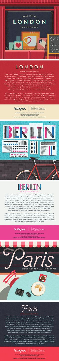 Herb Lester + Instagram City Guides / by Brice Beasley